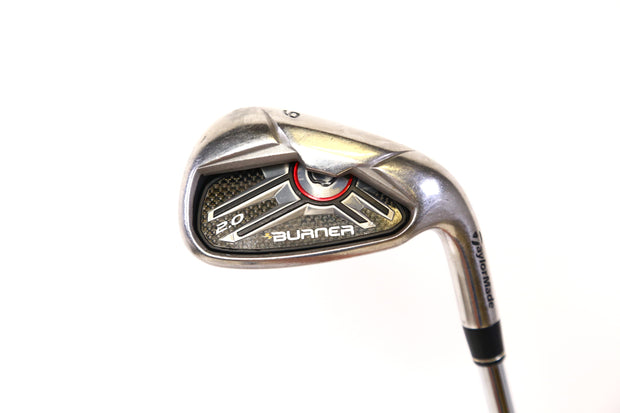 TaylorMade Burner 2.0 9-Iron 36.5in RH 40 Degree Steel Shaft Regular Flex Men's
