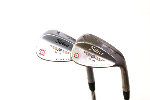 Titleist Vokey SM Tour Chrome '09 Sand, Lob Wedge Set Right Handed Steel Shafts
