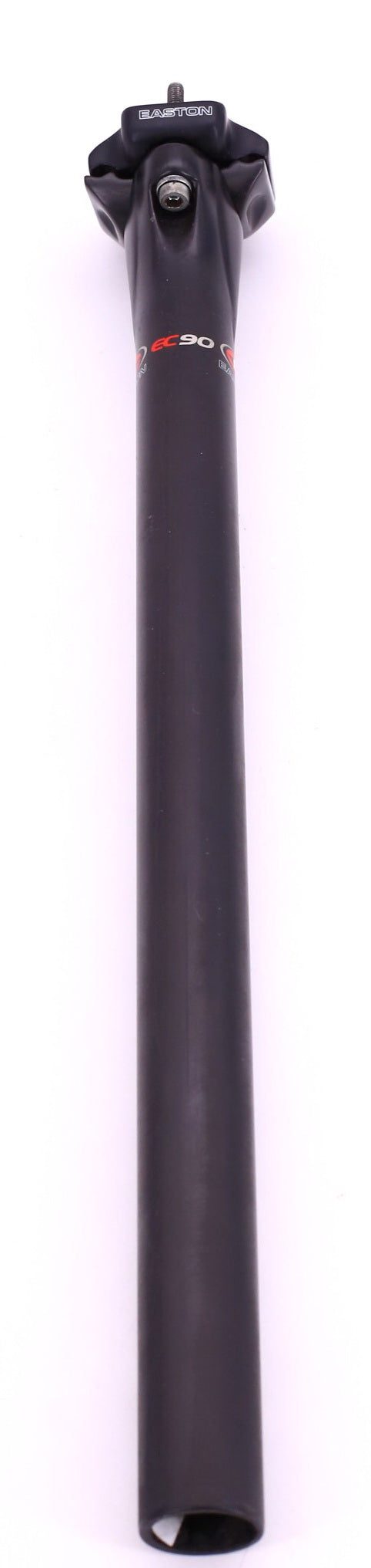 Easton EC90 Seatpost 27.2 x 400mm Carbon 0mm Setback Black