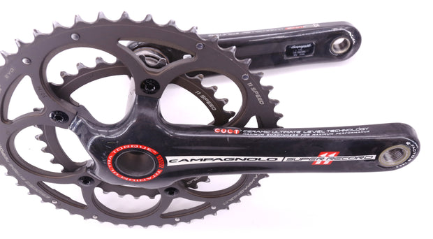 Campagnolo Super Record 11 Ultra Torque Road Bike Crankset Carbon 170mm 50/34T