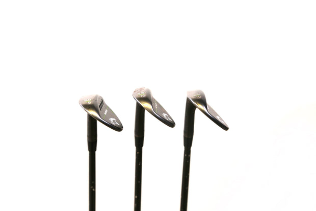 Callaway MD3 Milled Lucky Clover Gap, Sand, Lob Wedge Set RH Steel 52 / 56 / 60
