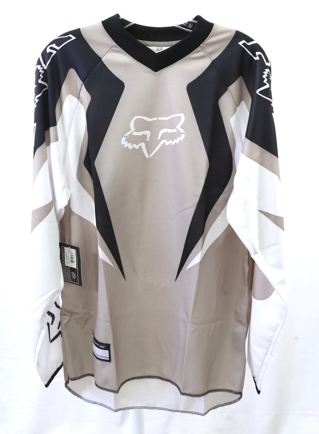 Fox SFX MTB Motocross Cycling Jersey Dark Stone Mens Small (New With Tags)