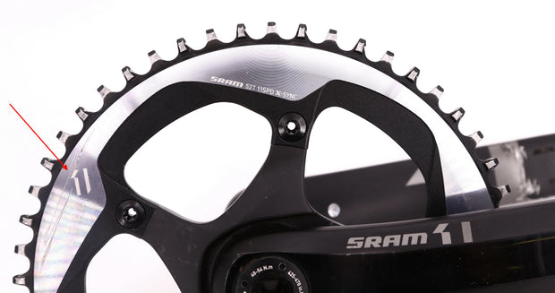 SRAM X1 Road Bike Crankset 175mm 11 Speed X-Sync 52T BB30