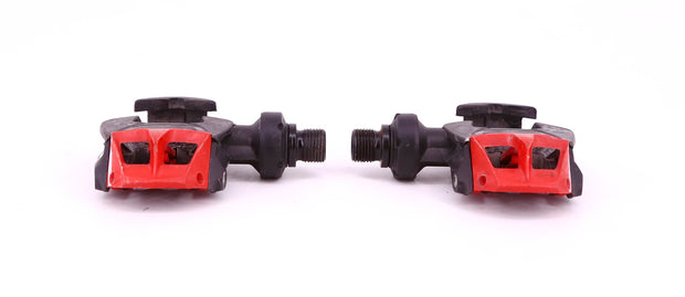 Time i-Clic Carboflex Clipless Road Bike Pedals Black / Red