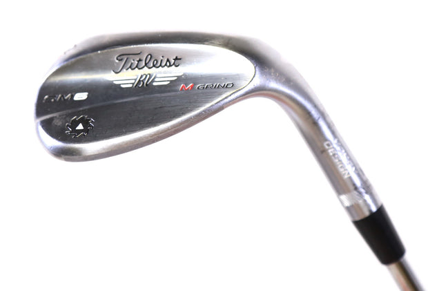 Titleist Vokey SM6 M-Grind Lob Wedge 35in RH 62 Degree Steel Shaft Wedge Flex