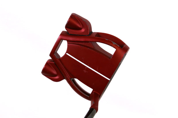 TaylorMade Spider Tour Red Putter 35 in Left Handed Steel Shaft