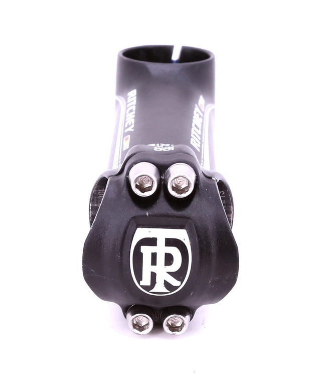 Ritchey WCS Axis 4 Aluminum Stem 31.8 x 100 mm 9 Degree Rise Black