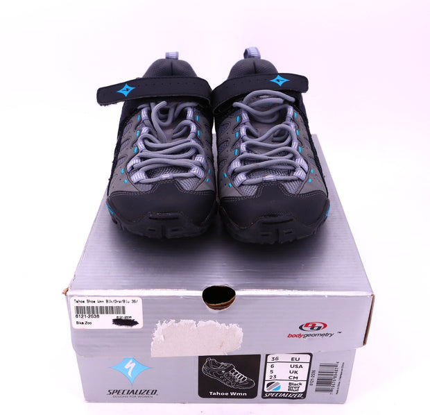 Specialized BG Tahoe WMN Black/ Grey MTB Cycling Shoes EU 36 / US 6