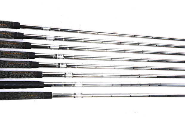 Wilson 1200 LT 3-9, PW Iron Set Right Handed Steel Shafts Standard Flex