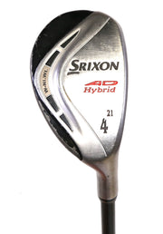 Srixon AD 4 Hybrid 40.25in RH 21 Degree Graphite Shaft Stiff Flex