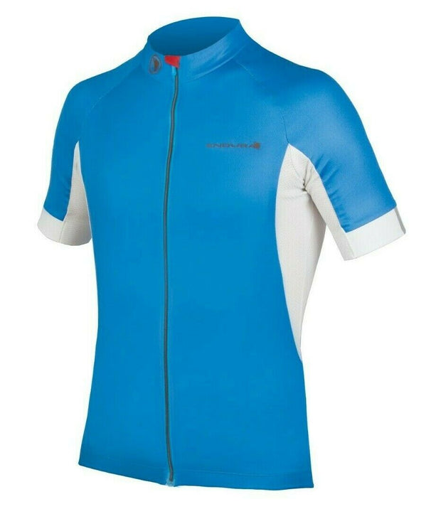 Endura FS260 Pro III S/S Cycling Jersey Ocean Blue S NEW Retail $94.99