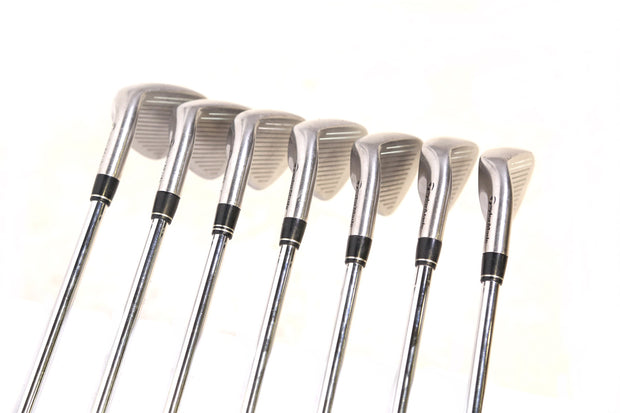 TaylorMade R7 Draw 4-9, PW Iron Set Right Handed Steel Shaft Stiff Flex Men's