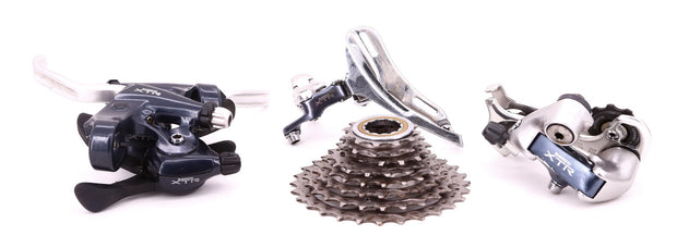 Shimano XTR M900 Mini Groupset For Mountain Bike 8 Speed