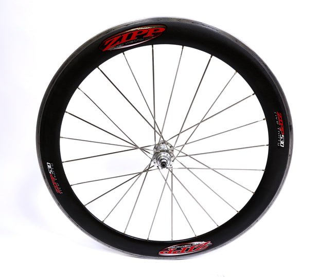 Zipp 530 Carbon Fiber Tubular Road Bike Rear Wheel 700c 10 Speed Dura-Ace Hub