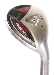 Callaway Razr X HL Hybrid 4 39 in RH 24 Loft Callaway Graphite Shaft Womens Flex