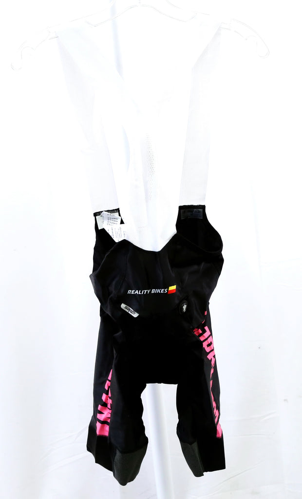 Safetti Pantaloneta CC Road Cycling Bibs Black WMN Medium (New With Tags)