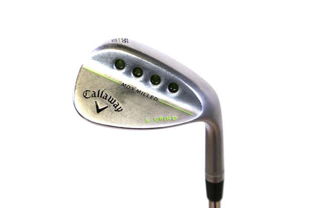 Callaway MD3 Milled Chrome S Grind Sand Wedge 35 in RH 56 Degree Steel Shaft