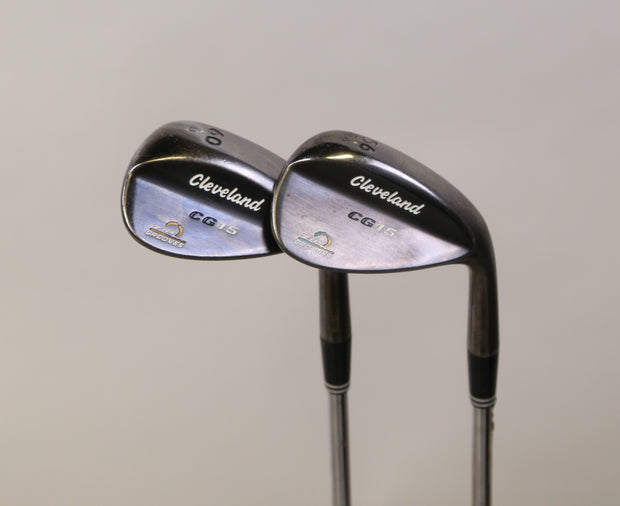 Cleveland CG15 Sand, Lob Wedge Set Right Handed Steel Wedge Flex Shafts