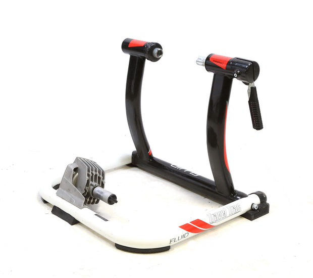 Travel Trac Fluid Indoor Fluid Bike Trainer with Riser Block