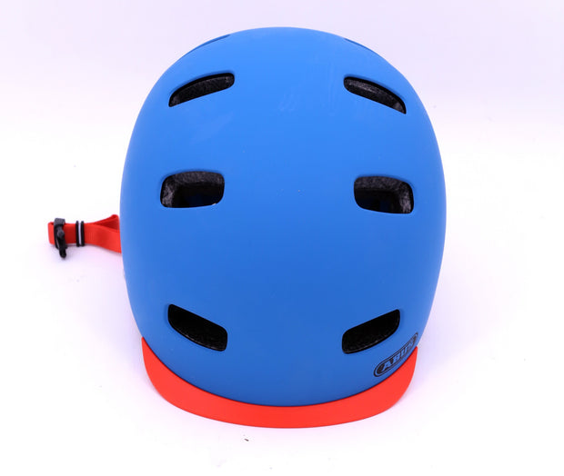 Abus Scraper 2.0 Petrol Bicycle Helmet Medium Blue CPSC Skate BMX