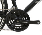 "2017 Specialized Sirrus Hybrid Bike L / 21"" 3 x 8 Speed 700C Wheels Black"