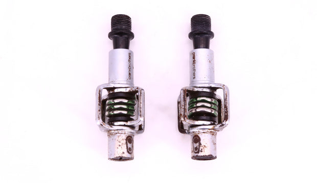 Crankbrothers Eggbeater Clipless Mountain Bike Pedal Silver / Green