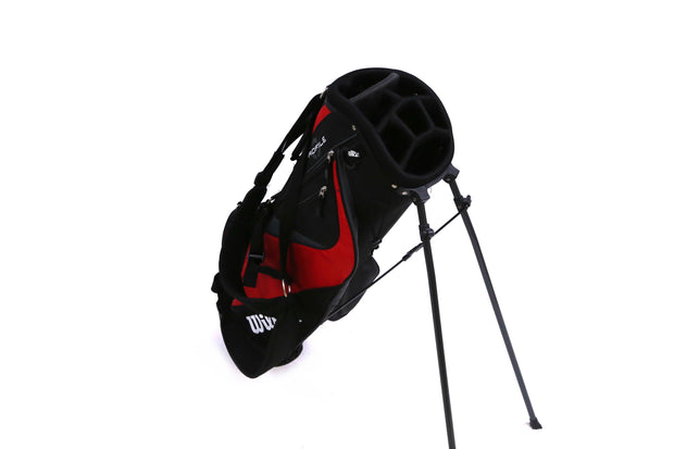 Wilson Profile Stand Golf Bag 7 Way Divider Black/Red