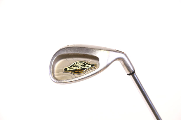 Callaway Big Bertha X-12 Sand Wedge 35.5in RH 54 degree Steel Shaft