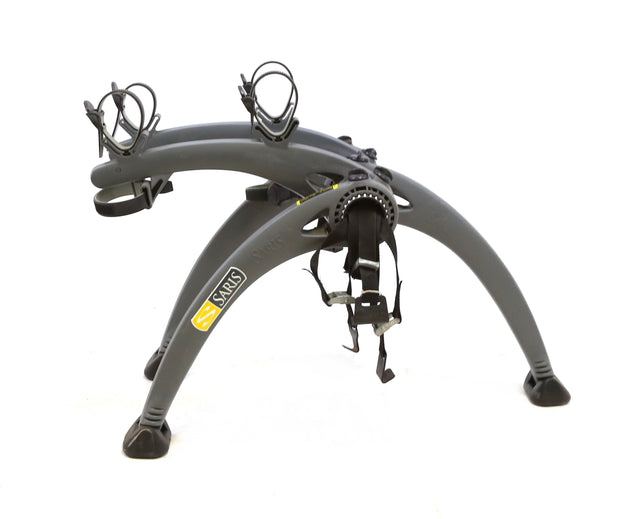 Saris Bones 2 Bike Capacity Trunk Mount Bike Rack Gray