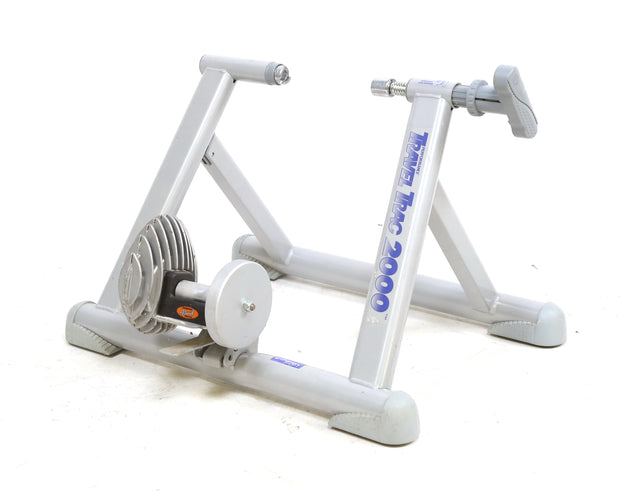 Travel Trac 2000 Indoor Bicycle Trainer Fluid Resistance Foldable