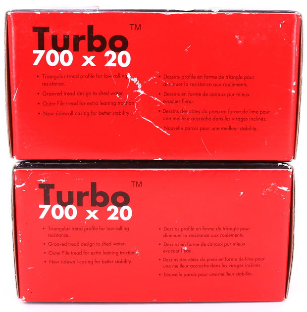 Specialized Turbo Team Edition Road Bike Tires Folding 700 x 20c Pair NEW IN BOX