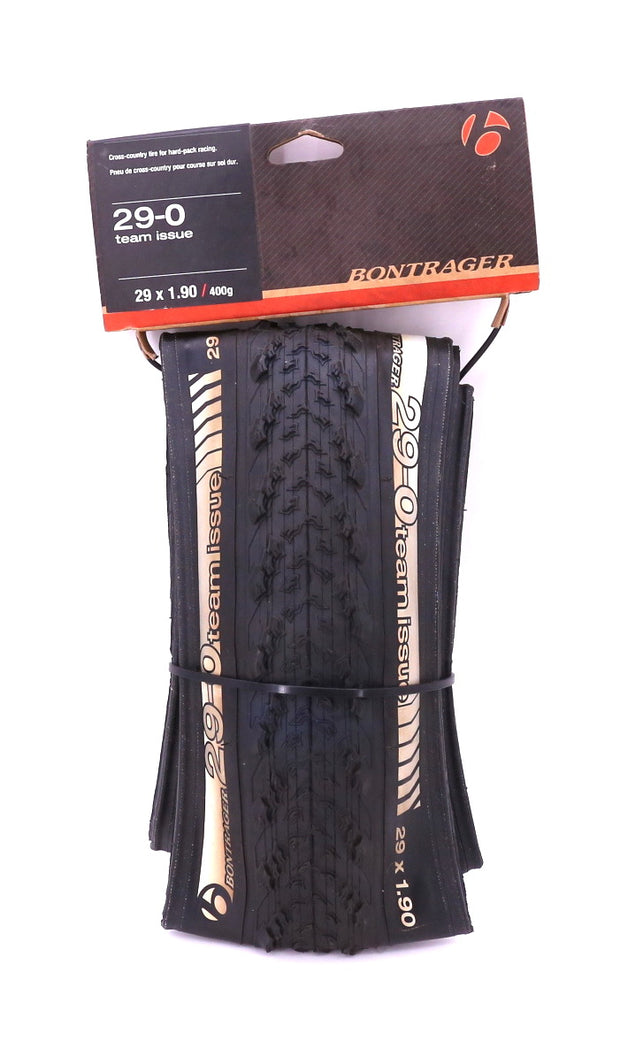 "Bontrager 29-0 Team Issue Mountain Bike Tire 29 x 1.90"" Tubeless Ready NEW"