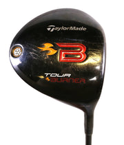 TaylorMade Tour Burner Driver 45 in RH 9.5 Degree Fujikura Graphite Shaft Stiff
