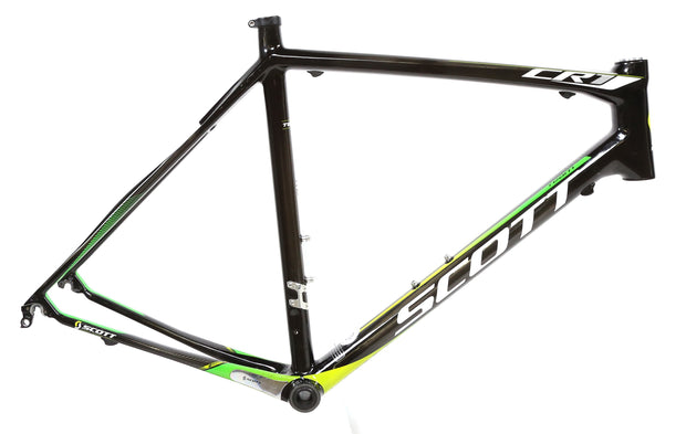 2013 Scott CR1 Team 55 cm Carbon Fiber Road Bike Frame 700C + BB / Headset