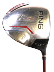 Ping K15 Driver 46 in Right Handed 10.5 Degree Graphite Shaft Regular Flex