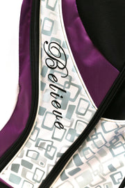 Founders Club Believe Golf Bag 14-Way Divider Purple 7 Pockets Single Strap
