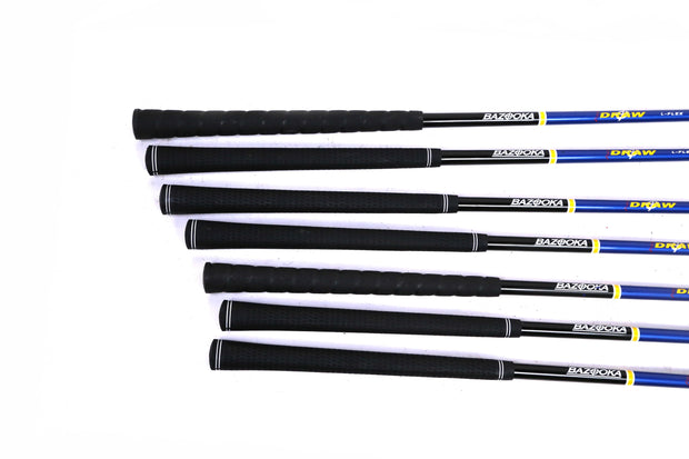 Tour Edge Bazooka JMAX Draw 4-9, PW Hybrid Set RH Graphite Ladies Flex Shafts