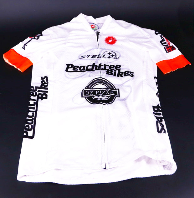 Castelli Climbers 2.0 Mens Cycling Jersey Medium White (New with Tags)