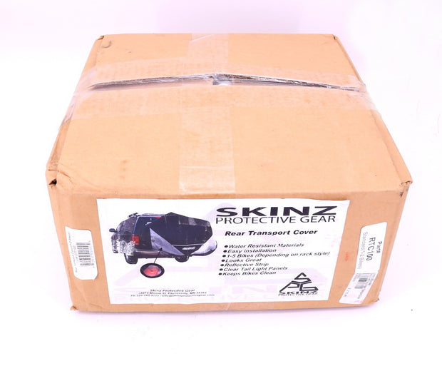 Skinz Protective Gear Rear Transport Cover 1-2 Bikes Trunk Rack RTC100