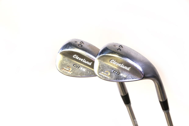 Cleveland CG15 Sand, Lob Wedge Set Right Handed Steel Shafts Wedge Flex