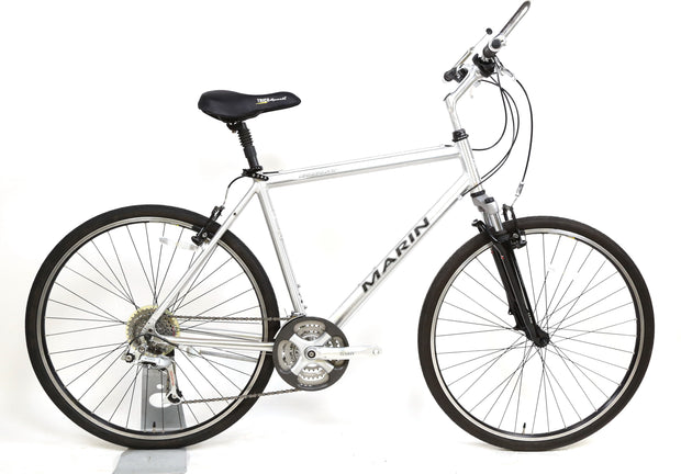 "Marin Sausalito Hybrid / Comfort Bike L / 19"" 3 x 8 Speed 700C Front Suspension"