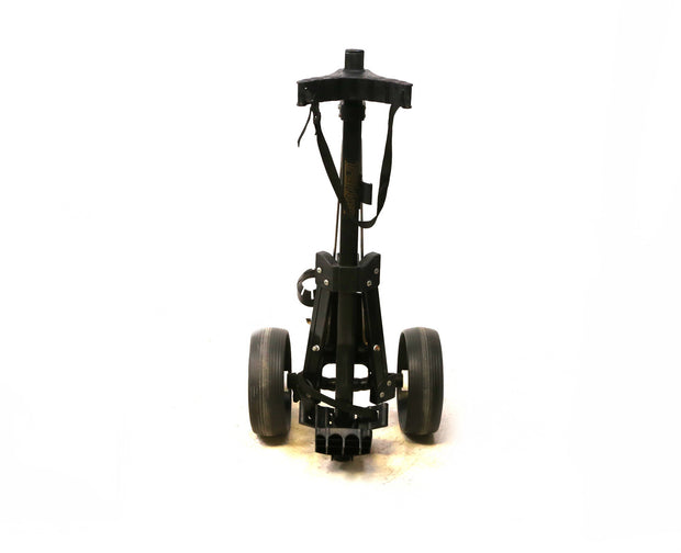 Trakker Golf Push Cart 2 Wheeled Folding Black