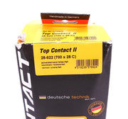 Continental Top Contact II Single Road Bike Tire Clincher 700 x 28C NEW