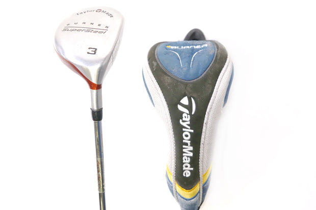 TaylorMade SuperSteel 3 Wood 42.5 in Right Handed 15 Degree Steel R-80 Shaft