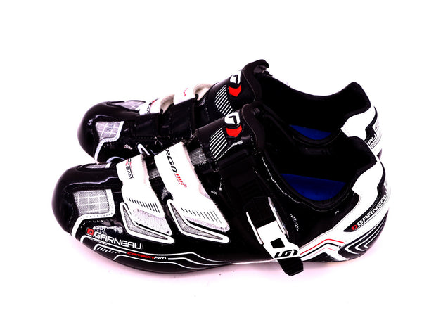 Garneau Pro Race Carbon HRS-300 Road Cycling Shoes White / Black EU 38 / US 5.5