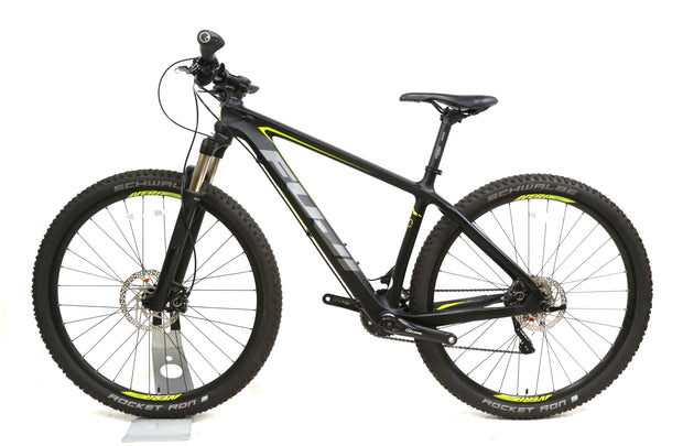 "2017 Fuji SLM 2.7 Carbon Mountain Bike M / 17"" 2 x 10 Speed Deore XT 29"""