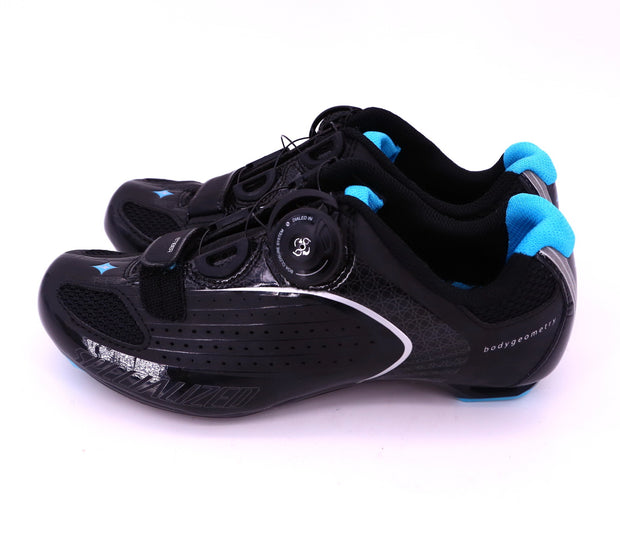 Specialized Ember RD WMN Black / Blue Road Cycling Shoes EU 37 / US 6.5 NIB