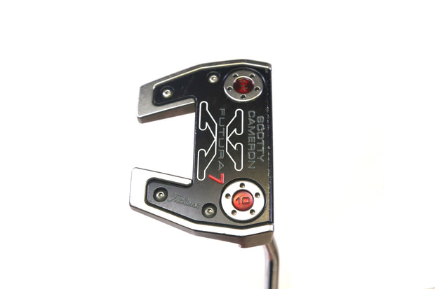 Titleist Scotty Cameron Futura X7 Putter 35 in RH Steel Shaft