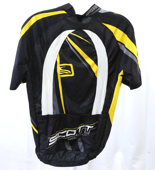 Scott RC Pro SL Road Jersey Mens Medium Black/Yellow (New With Tags)