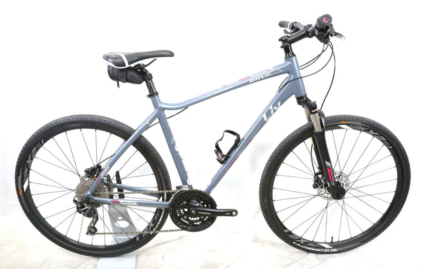 2018 Giant Liv Rove 1 Disc Large Women's Hybrid Bike 3 x 10 Speed Shimano Deore